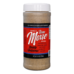 Vogel's Texas Moxie Rub - All-Purpose Seasoning with Tenderizer