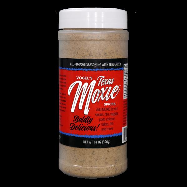 Vogel's Texas Moxie Rub - All-Purpose Seasoning with Tenderizer
