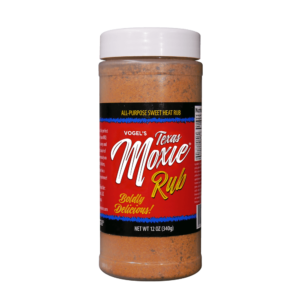 Vogel's Texas Moxie Rub - All-Purpose Sweet Heat Rub