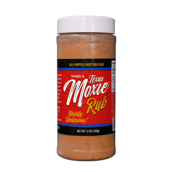 Vogel's Texas Moxie Rub - All-Purpose Sweet Heat Rub