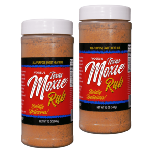 Texas Moxie Spices - Combo Pack All Purpose Sweet Heat Rub Seasoning