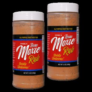 Texas Moxie Spices - Combo Pack All Purpose Sweet Heat Rub Seasoning